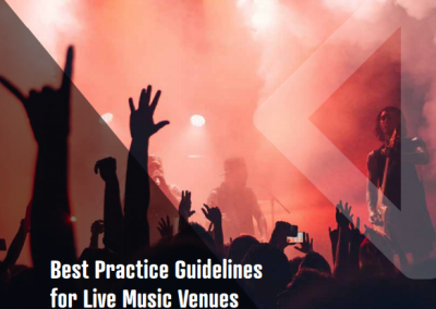 Best Practice Guidelines for Live Music Venues