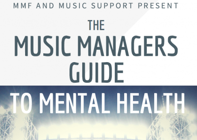 The Music Managers Guide to Mental Health