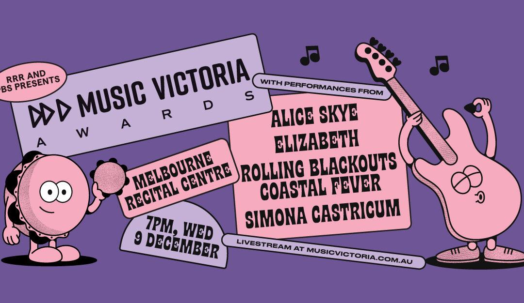 Music Victoria Awards 2020 live stream – Wed Dec 9