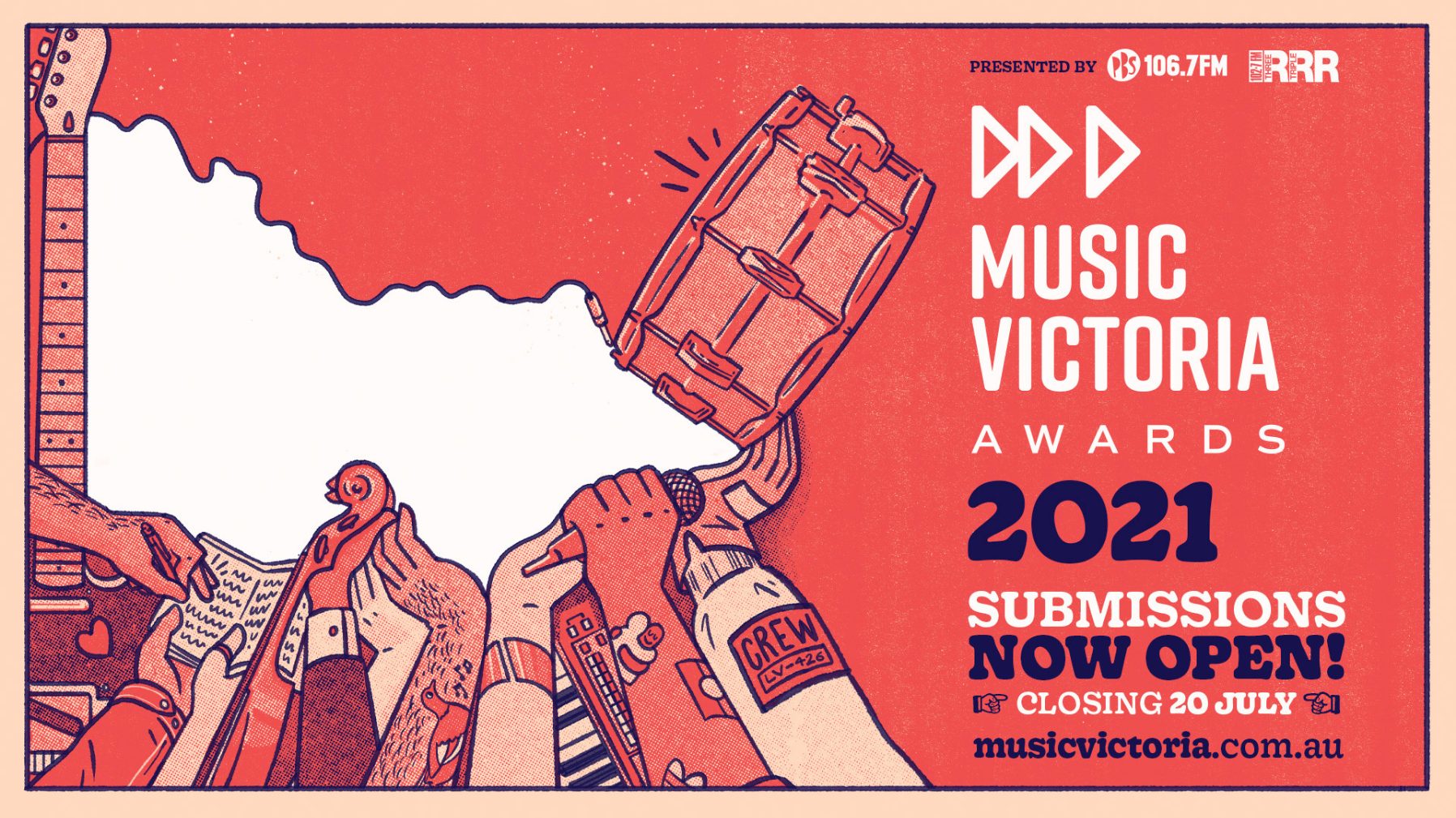 Submission open for Music Victoria Awards 2021