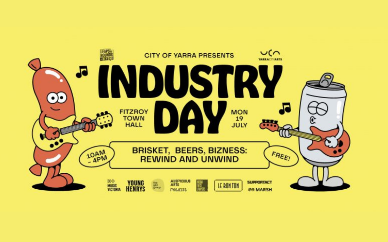 Music industry day free event leaps and bounds festival