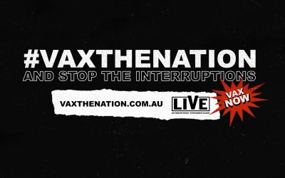 Music Victoria joins #VaxTheNation industry campaign