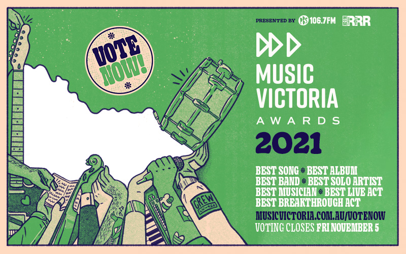 Vote now for the 2021 Music Victoria Awards 2021